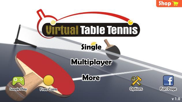 Virtual Table Tennis Apk Mod