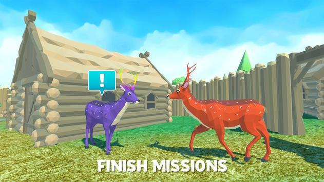 Deer Simulator Animal Family 3D Mod