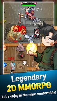 Grow Stone Online 2d pixel RPG Apk Mod