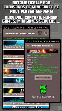 Servers for Minecraft PE Apk Mod