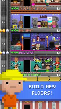 Tiny Tower 8 Bit Life Simulator