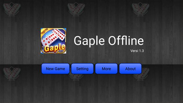 Domino Offline Gaple