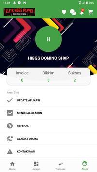 Higgs Domino Shop Apk Mod