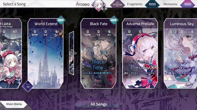 Arcaea New Dimension Rhythm Game Mod