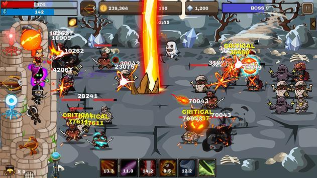 Final Castle Defence Idle RPG Apk Mod
