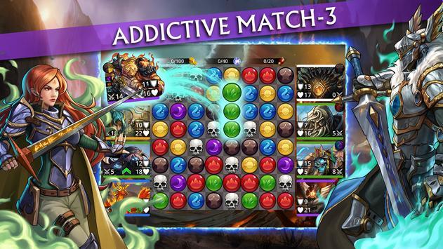 Gems of War Match 3 RPG Apk Mod