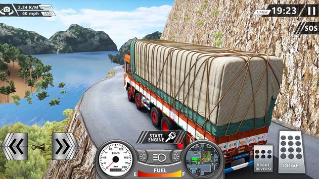 Indian Truck Offroad Cargo Delivery Apk Mod