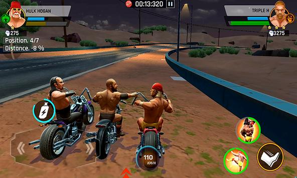 WWE Racing Showdown Apk Mod