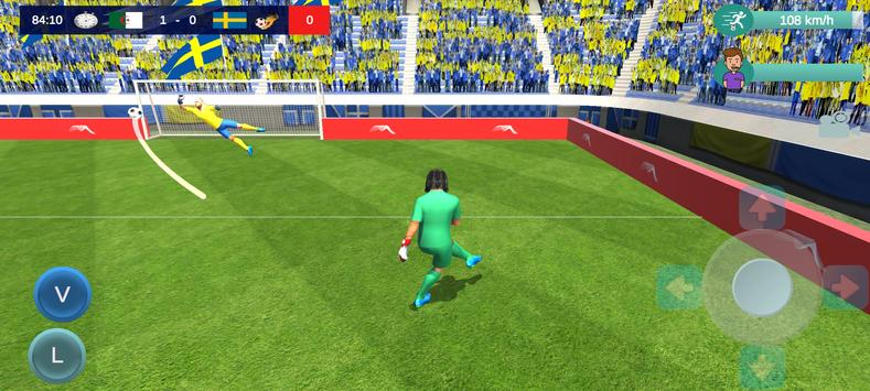 Goalie Striker Football Apk Mod