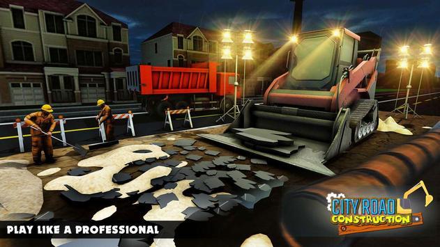 Mega City Road Construction Machine Operator Game Mod