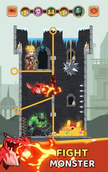Rescue Hero - Pin Puzzle Game & Save The Hero Apk Mod