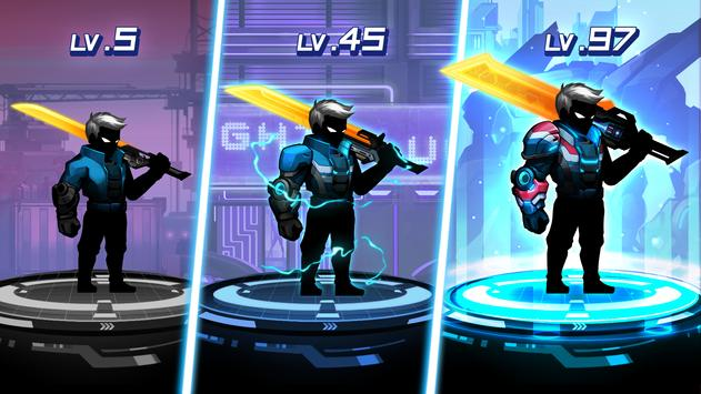 Cyber Fighters Stickman Cyberpunk 2077 Action RPG Mod