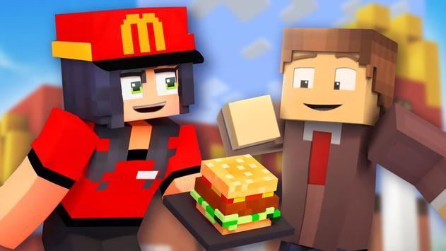 Fast Food Restaurant Mod for Minecraft Unlocked