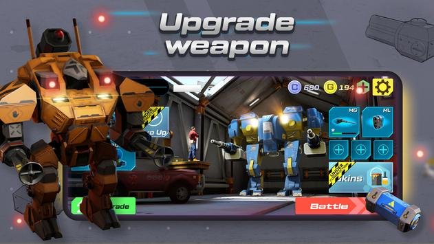 Mech vs Aliens Top down shooter RPG Apk Mod