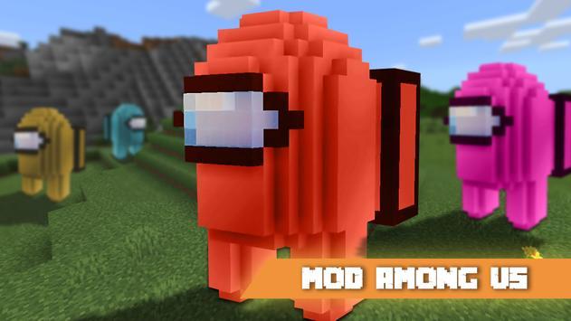 Mod Among us for Minecraft Apk Mod