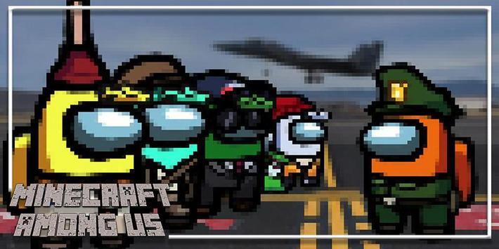 New Among Us Minecraft PE 2021 Mod