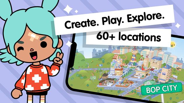 Toca Life World Build stories & create your world Mod
