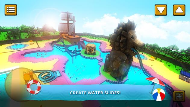 Water Park Craft GO Waterslide Building Adventure Apk Mod