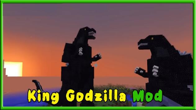 Mod Godzilla Minecraft Apk