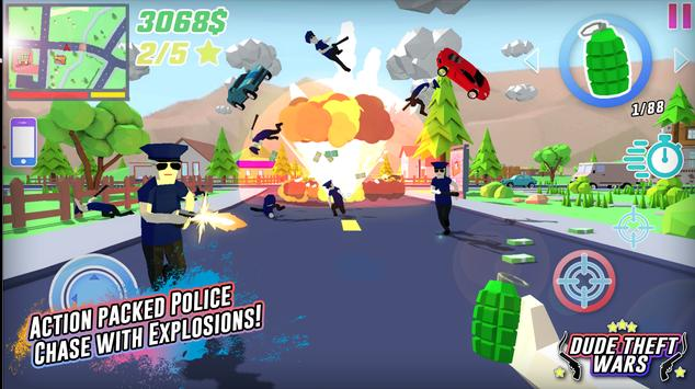 Dude Theft Wars Online FPS Sandbox Simulator BETA Apk Mod