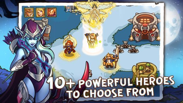 Empire Defender TD Tower Defense The Fantasy War Apk Mod