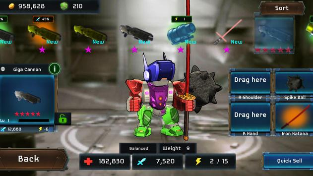 MegaBots Battle Arena Apk Mod