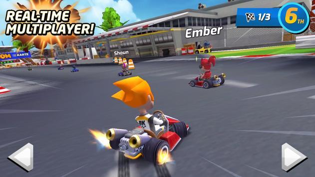 Boom Karts Multiplayer Kart Racing Apk Mod