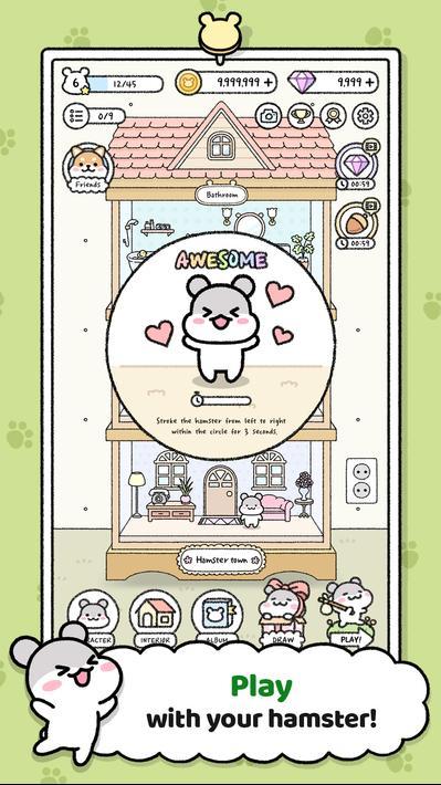 Hamster Town Apk Mod