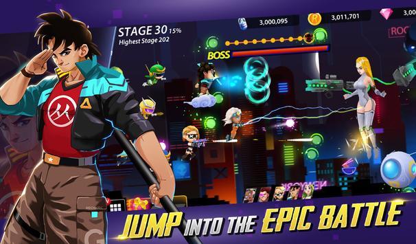 Idle Hero Z - Summon & Merge Cyberpunk Apk Mod