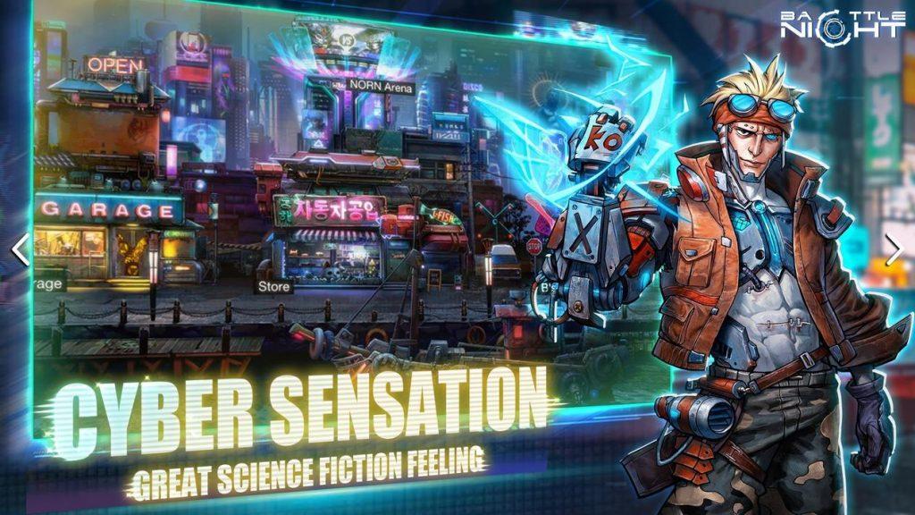 Battle Night Cyberpunk-Idle RPG Apk Mod