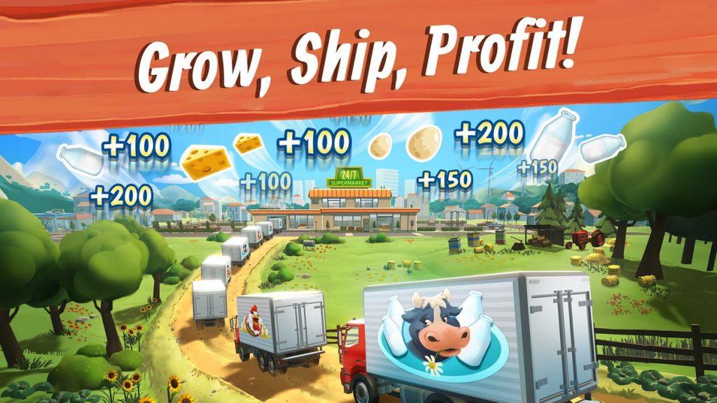 Big Farm Mobile Harvest Apk Mod