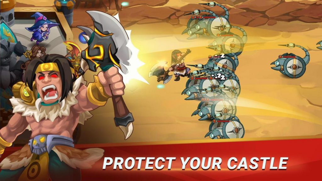 Castle Defender Premium Apk Mod