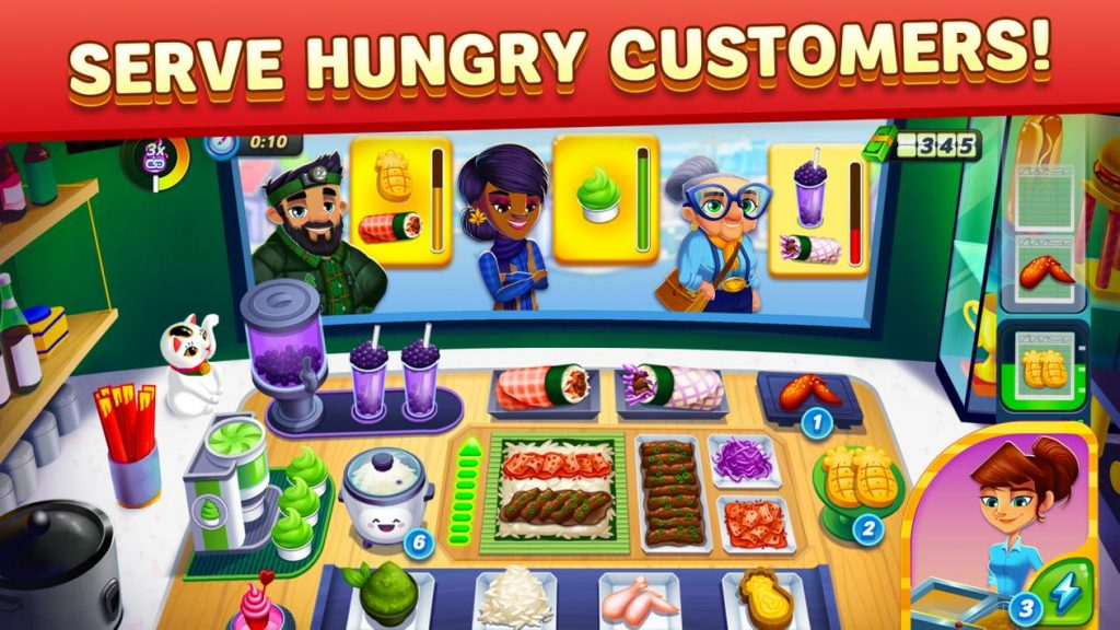 Diner DASH Adventures Apk Mod