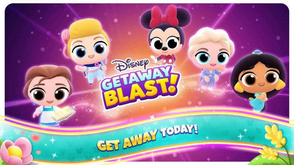 Disney Getaway Blast Apk Mod