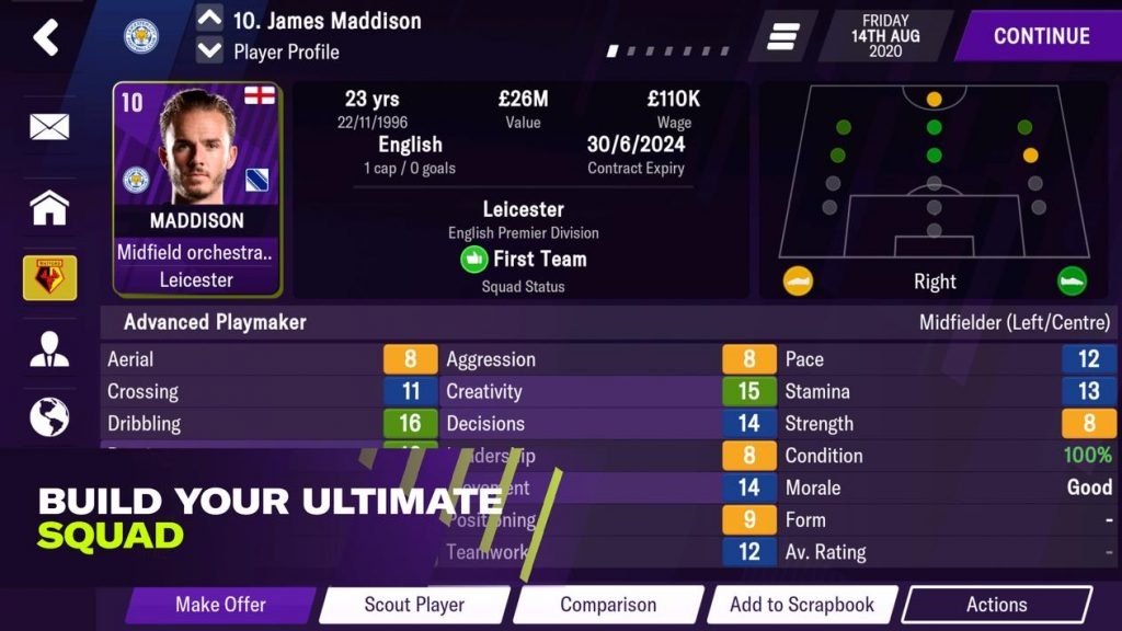 Football Manager 2021 Mobile Apk Mod
