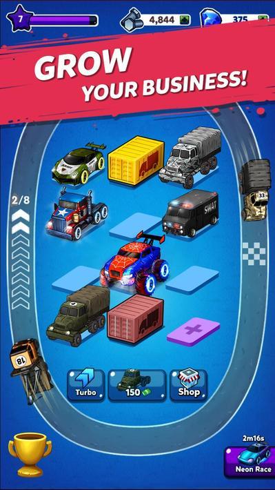 Merge Truck Monster Apk Mod