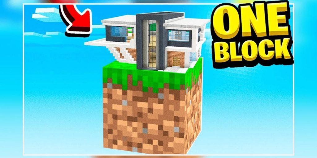 ONE BLOCK CHALLENGE FOR MCPE Apk Mod