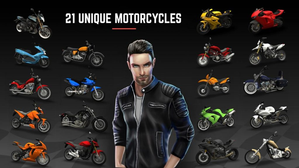 Racing Fever Moto Apk Mod