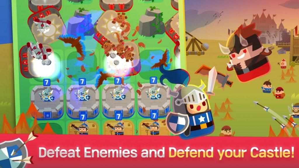 Merge Tactics Kingdom Defense Apk Mod
