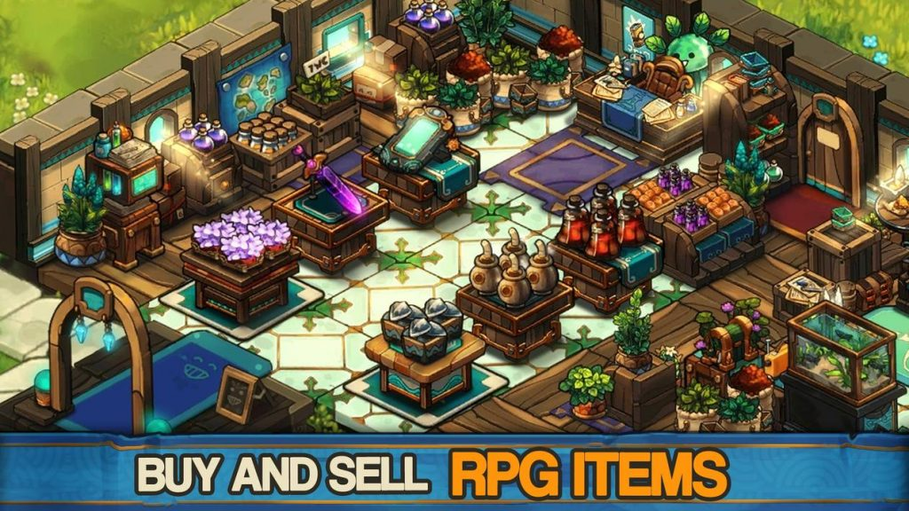 Tiny Shop Cute Fantasy Craft RFG Apk Mod