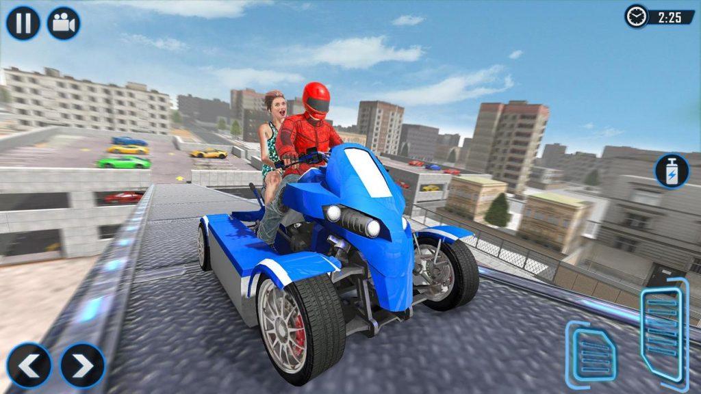 ATV Quad Bike Simulator 2021 Bike Taxi Games Apk Mod