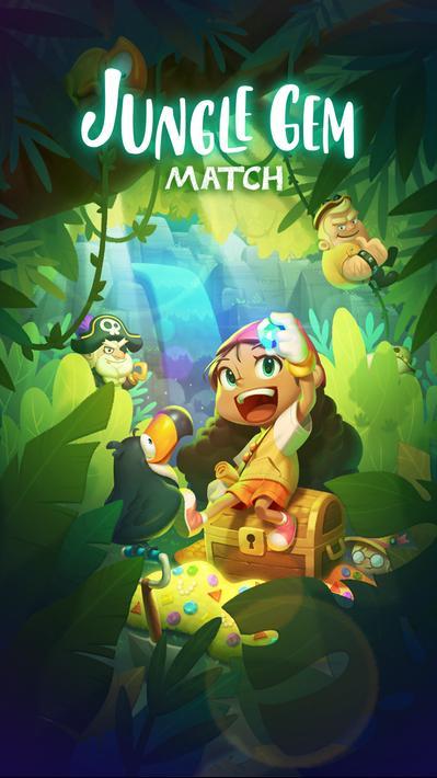 JungleGem Match PvP Match3 Apk Mod