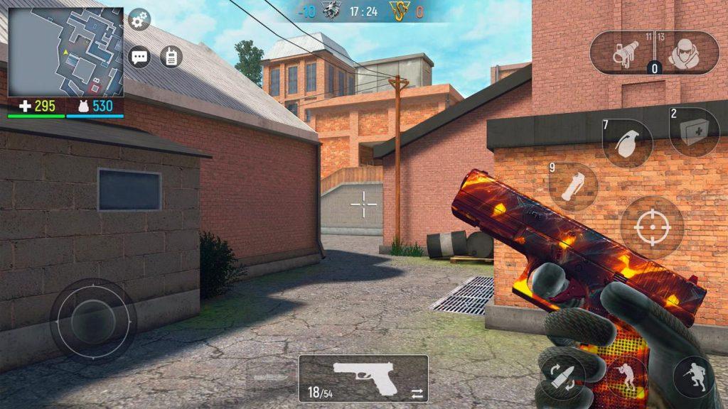 Modern Ops Gun Shooting Games FPS Apk Mod