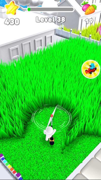 Mow My Lawn Cutting Grass Apk Mod