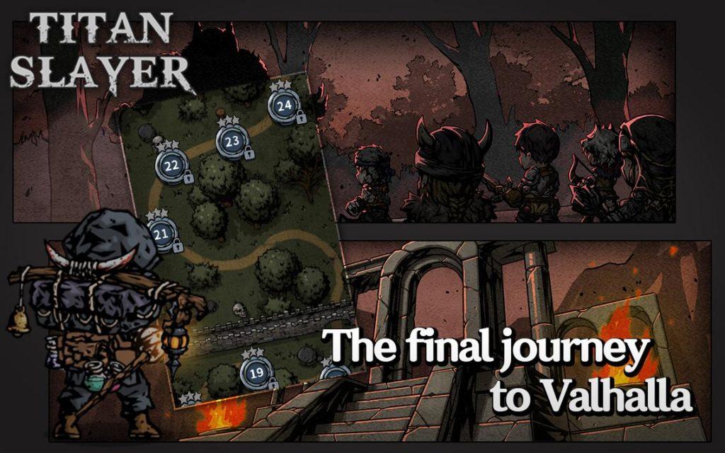 Titan Slayer Roguelike Card RPG Apk Mod