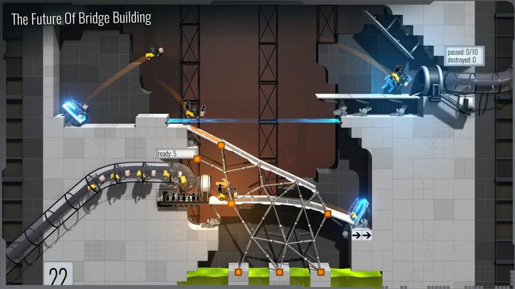 Bridge Constructor Portal Apk Mod