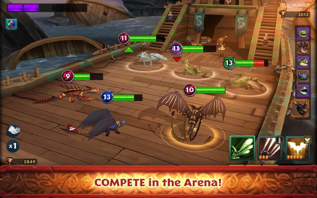 Dragons Rise of Berk Apk Mod