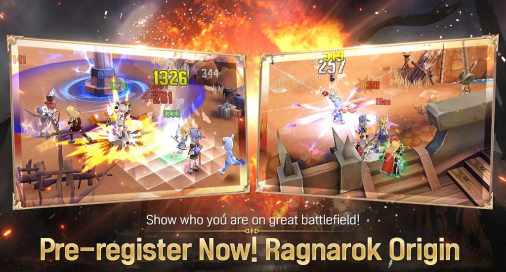 Ragnarok Origin Fantasy Open World Online MMORPG