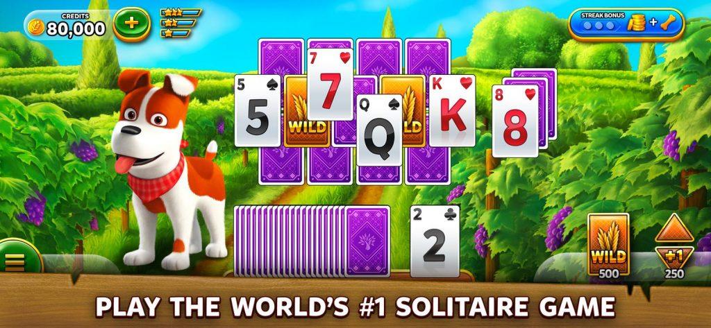 Solitaire Grand Harvest - Free Solitaire Tripeaks Apk Mod
