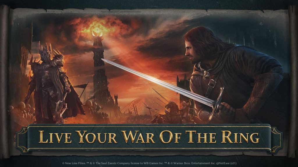 The Lord of the Rings War Apk Mod